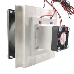 12v Thermoelectric Peltier Cooler Refrigeration Semiconductor Cooling System Kit
