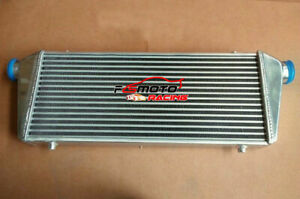 28 X10 X2 Front Mount Universal Aluminum Turbo Intercooler 2 25 56mm In Outlet