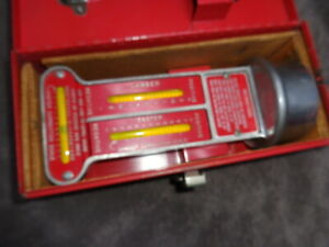 Matco Wa600b Caster Camber Gauge In Box