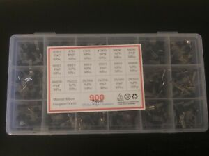 900pcs 18 Types Mixed Transistors Electronic Components Assortment Transistor