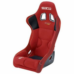 Sparco 062kit844irs Evo 2 Us Seat Cover Red