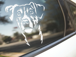 Jack Russell Sticker Dog Car Decal Terrier Russells Dogs Puppy Silhouette