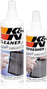 Kn Cabin Air Filter Cleaning Kit Spray Bottle Filter Cleaner And Refresher Kit