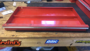 1 Kra 59f Snap On Tool Box Tool Chest Top Large Drawer Year 1985