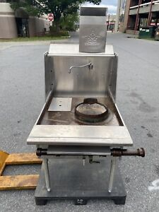 29 Commercial Natural Gas Single Burner 12 Wok Range 100 000 Btu hr Used