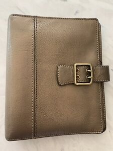 Franklin Covey boston Classic Leather Planner Binder