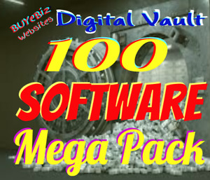 100 Premium Software Mega Pack Resell Rights Free Website Bonus Too Limited Time