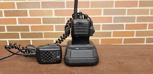 Lot Of 2 Vertex Vx 160v Vx 160 Vhf 2 Way Radio With Charger Mic Antenna