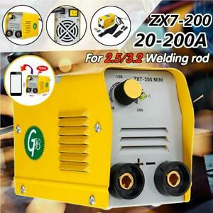 Quick Plug Electric Mini Inverter Indicator Welding Machine With Cooling Vent