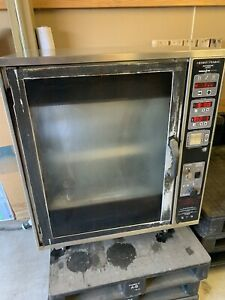 Henny Penny Scr 6 Electric Digital Commercial Chicken Rotisserie Oven Barbecue