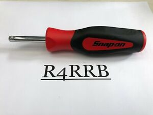 Snap On Tools Usa New Red Soft Grip 1 4 Drive Standard Shank Driver Sgt4b