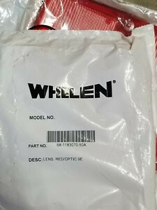 4 Lot New Whelen 9e Series Red Lens 68 1183070 50a Style 900