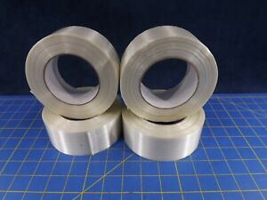 4 Rolls 2 X 60 Yds 125lb Filament Strapping Packing Tape Free Ship