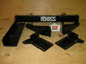 Boss Snow Plow rt3 Full Size Only Truck Mount Lta09163 09 21 Ford F150 Only