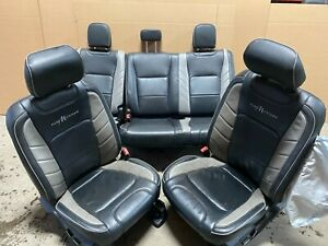 2019 Ford F150 Front Leather Katzkin Leather Bucket Seats Pure Michigan Rears