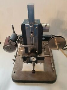 Vintage Wyman Model B Gold Stamper Hot Foil Stamping Embossing Machine