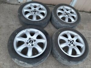 2007 2013 Mini Cooper 16 Inch Wheel Rim W Tire Set Of 4 Oem