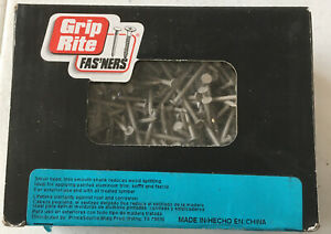 Grip Rite 1 1 4 Trim Nails Stainless Steel Clay Color 1 Pound Box 114301cly1
