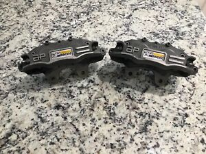 Nice Ap Brake Calipers 810 Rotor Dirt Late Model Imca Race Car