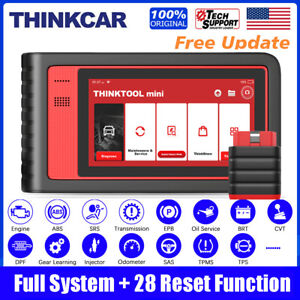 All System Car Diagnostic Scan Tool Obd2 Scanner Abs Srs Dpf Key Immo Tpms Epb