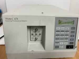 Waters 474 Scanning Fluorescence Detector 60 Days Warranty See Video