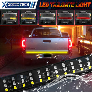 60 Inch 3 Rows Led Rear Trunk Strip Tailgate Light Bar For Toyota Tacoma 4runner