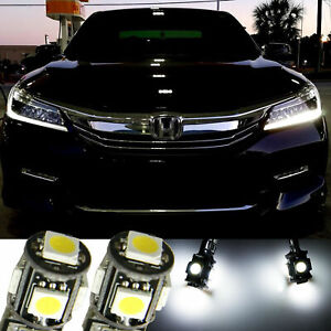 6000k Led Drl Light Headlight Strip Bulbs Fit For Honda Accord Sedan Coupe 2013