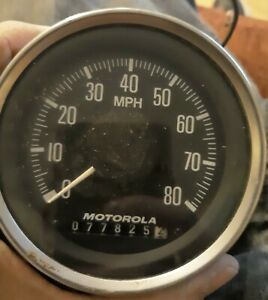Vintage Motorola Speedometer Speedo Rat Rod Boat Hot Rod