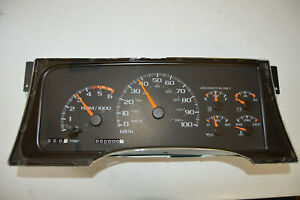 Chevy C K 1500 2500 Speedometer Instrument Cluster Panel 16205415 95 96 97 98 99