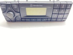 Vintage Mercedes Benz Becker Stereo In Great Condition radio Card Code 36521