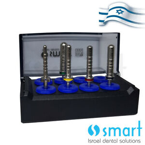 Lot X 5 Dental Implant Surgical Drill Body Try In Mis Seven Dep Depth Probe Set