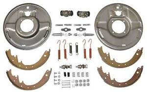 Model A Ford Hydraulic Brake Front Backing Plates For 1 3 4 Drum 12 Bendix