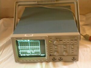 Tektronix Tds380 2 Channel 400mhz Real Time Digital Oscilloscope Works Fine