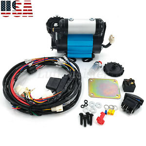 Ckma12 High Output Air Compressor Kit For Universal 12v On board Air Lockers New