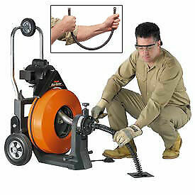 General Wire Maxi rooter Drain sewer Cleaning Machine W 2 5 8 Cables