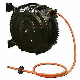 Retractable Composite Reel Air water Hose 1 2 X 50ft 138 Psi