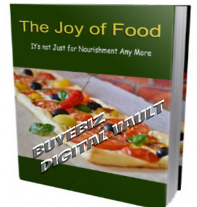 The Joy Of Food Healthy Eats Resell Rights ebooks software videos Low As 39c Ea