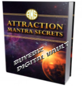 Attraction Mantra Secrets Resell Rights ebooks software sale Now Low As 39c Ea