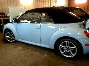 Rear View Mirror With Digital Clock Fits 02 05 Beetle 1123238
