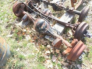1977 Ford Ranchero Rear Axle 9 Assembly Center Section 3rd Member Drum Brakes