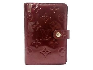 Authentic Louis Vuitton Vernis Agenda Pm Diary Cover R21002 Patent Leather