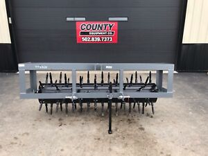 New 6ft Titan Implement 8206 Three Point Hitch Core Aerater