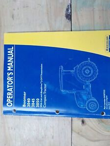 New Holland 3040 3045 3050 Cab And Cvt Drive Owners Manual June 2010 84307323