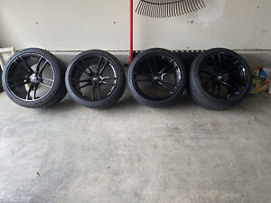 Ford Mustang Gt350 P51 Wheels W Cup2 Connects