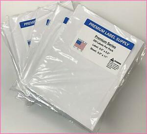 Half Sheet Self Adhesive Shipping Labels For Laser Or Inkjet Printer