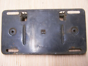 Mopar B body Rear Tag Fuel Door 64 Polara Fury 65 Coronet Satellite Belvedere