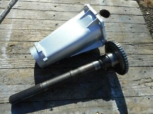 Th375 Transmission Extension Tail Housing Output Shaft Th400 To Th350 27 Yoke