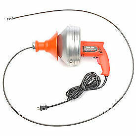 General Wire Sv f Super vee Drain sewer Cleaning Machine W 25 X 1 4 Cable