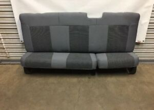 2008 2016 Ford F250 F350 F450 Extended Cab Rear Seat Gray Cloth