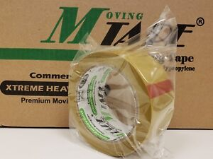 36 Rolls Beige Carton Sealing Packing 1 7 Mil Shipping Box M tape 2 X 100 Yards